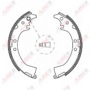 ABE C02061ABE Гальмівні колодки, барабанні