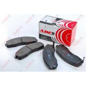 ABE C10316ABE Комплект тормозных колодок, дисковый тормоз Киа Преджио