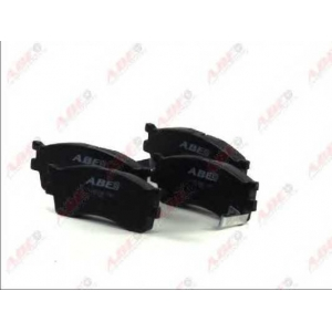 ABE C10319ABE Комплект тормозных колодок, дисковый тормоз Хюндай Ай 20