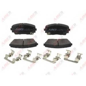 ABE C10334ABE Комплект тормозных колодок, дисковый тормоз Киа Пиканто
