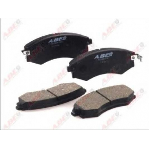 ABE C10503ABE Комплект тормозных колодок, дисковый тормоз Хюндай Купе