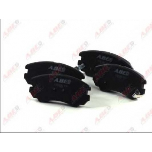 ABE C10518ABE Комплект тормозных колодок, дисковый тормоз Хюндай Туксон