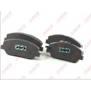 ABE C10521ABE Комплект тормозных колодок, дисковый тормоз Хюндай Санта Фэ
