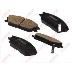 ABE C10522ABE Комплект тормозных колодок, дисковый тормоз Хюндай Акцент