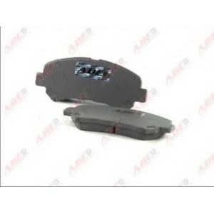 ABE C11086ABE Тормозные колодки передние Koleos/Qashqai