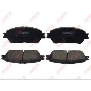 ABE C12125ABE Гальмівні колодки, дискові