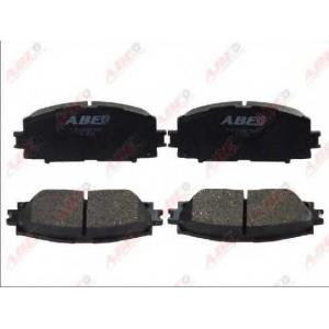 ABE C12133ABE Гальмівні колодки, дискові