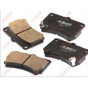 ABE C13036ABE Комплект тормозных колодок, дисковый тормоз Мазда 121