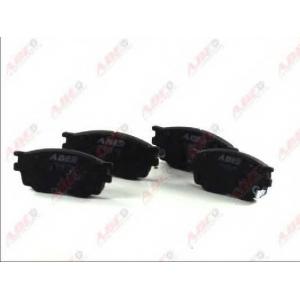 ABE C13051ABE Комплект тормозных колодок, дисковый тормоз Мазда 6