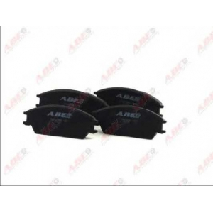 ABE C14020ABE Комплект тормозных колодок, дисковый тормоз Хюндай Акцент