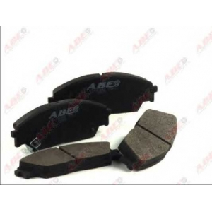 ABE C14023ABE Комплект тормозных колодок, дисковый тормоз Хонда Црх