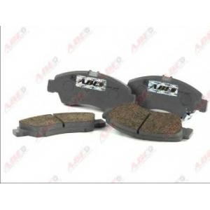 ABE C14034ABE Комплект тормозных колодок, дисковый тормоз Хонда Джаз