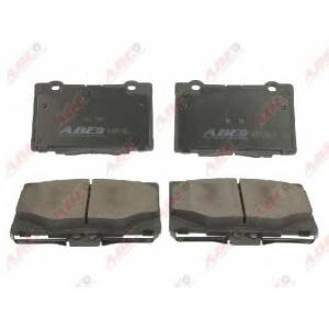 ABE C14054ABE Комплект тормозных колодок, дисковый тормоз Хонда