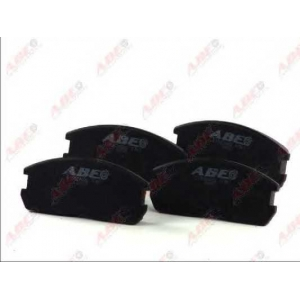 ABE C15024ABE Комплект тормозных колодок, дисковый тормоз Митсубиси Кольт