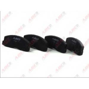 ABE C15025ABE Комплект тормозных колодок, дисковый тормоз Митсубиси Кольт
