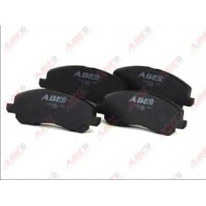 ABE C15044ABE Комплект тормозных колодок, дисковый тормоз Митсубиси Оутландер