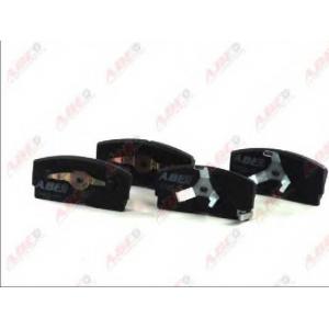 ABE C16006ABE Комплект тормозных колодок, дисковый тормоз Дайхатсу Аплоус
