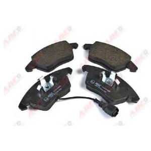 Комплект тормозных колодок, дисковый тормоз c1a024abe abe - VW PASSAT (362) седан 1.4 TSI