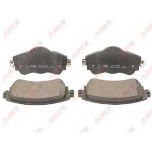 ABE C1C061ABE Комплект тормозных колодок, дисковый тормоз Ситроен Дс4