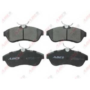 ABE C1C063ABE Комплект тормозных колодок, дисковый тормоз Ситроен С3 Плюриель