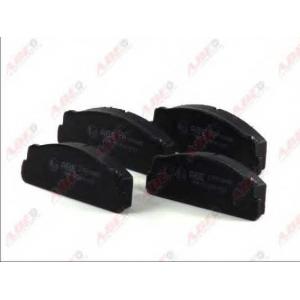 ABE C1F006ABE Комплект тормозных колодок, дисковый тормоз Фиат Фиорино