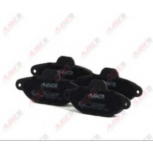 ABE C1F026ABE Комплект тормозных колодок, дисковый тормоз Фиат