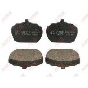 ABE C1G011ABE Комплект тормозных колодок, дисковый тормоз Форд Транзит