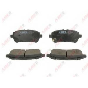 ABE C1G062ABE Комплект тормозных колодок, дисковый тормоз Дайхатсу