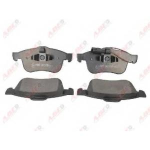 ABE C1H018ABE Комплект тормозных колодок, дисковый тормоз Фиат