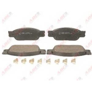 ABE C1J002ABE Комплект тормозных колодок, дисковый тормоз Ягуар С Тайп
