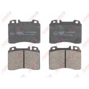 ABE C1M008ABE Комплект тормозных колодок, дисковый тормоз Мерседес Кабриолет