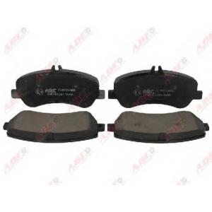 ABE C1M051ABE Комплект тормозных колодок, дисковый тормоз Мерседес Джт Л-Класс
