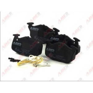 ABE C1P006ABE Комплект тормозных колодок, дисковый тормоз Ситроен Ах