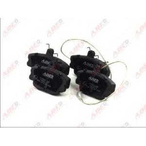 ABE C1R000ABE Комплект тормозных колодок, дисковый тормоз Рено Рапид