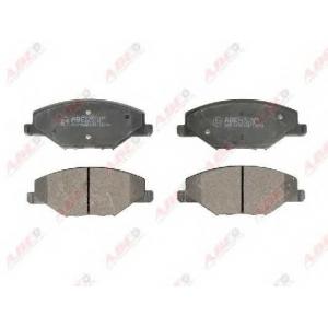 ABE C1W070ABE Гальмівні колодки, дискові