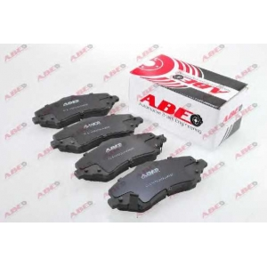 ABE C1Y029ABE Комплект тормозных колодок, дисковый тормоз Додж Нитро