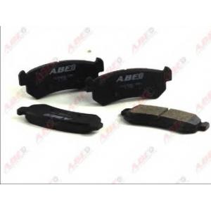 ABE C20006ABE Комплект тормозных колодок, дисковый тормоз Шевроле Калос