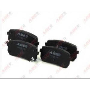 ABE C20310ABE Гальмівні колодки, дискові