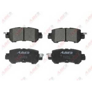 ABE C23018ABE Комплект тормозных колодок, дисковый тормоз Мазда Ц-Икс 5