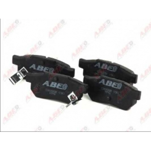 ABE C24002ABE Комплект тормозных колодок, дисковый тормоз Хонда Црх