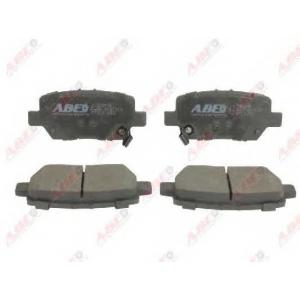 ABE C24016ABE Комплект тормозных колодок, дисковый тормоз Хонда