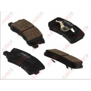 ABE C25010ABE Комплект тормозных колодок, дисковый тормоз Митсубиси Оутландер