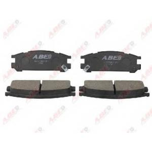 ABE C27001ABE Гальмівні колодки, дискові