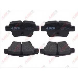 ABE C2C010ABE Гальмівні колодки, дискові