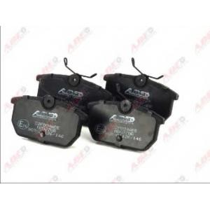 ABE C2F004ABE Комплект тормозных колодок, дисковый тормоз Фиат Уно