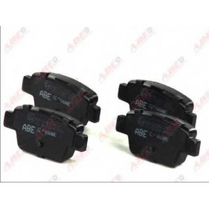 ABE C2F006ABE Комплект тормозных колодок, дисковый тормоз Фиат Мултипла