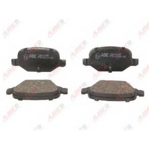 ABE C2F012ABE Комплект тормозных колодок, дисковый тормоз Фиат 500