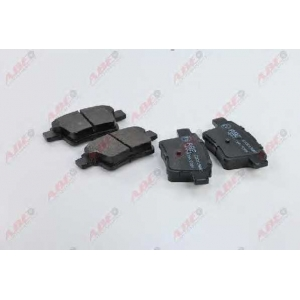 ABE C2G015ABE Комплект тормозных колодок, дисковый тормоз Ягуар Икс Тайп
