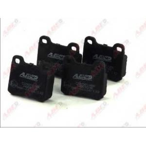 ABE C2M001ABE Колодки гальмівні дискові задні, комплект