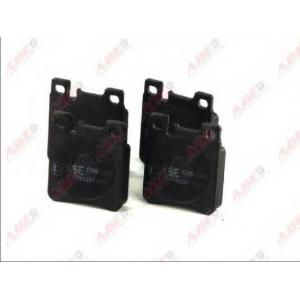 ABE C2M009ABE Комплект тормозных колодок, дисковый тормоз Крайслер Кроссфайр